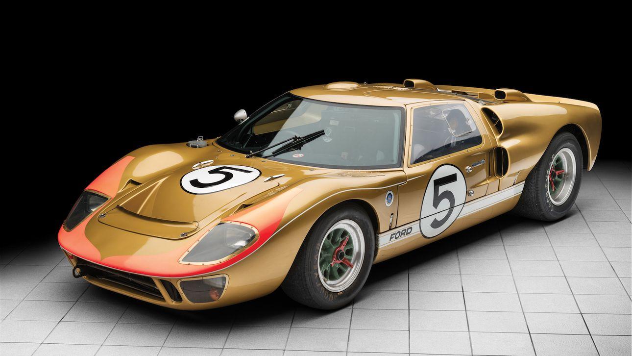 Te Koop Ford Gt40 Die Le Mans Niet Won Autobahn