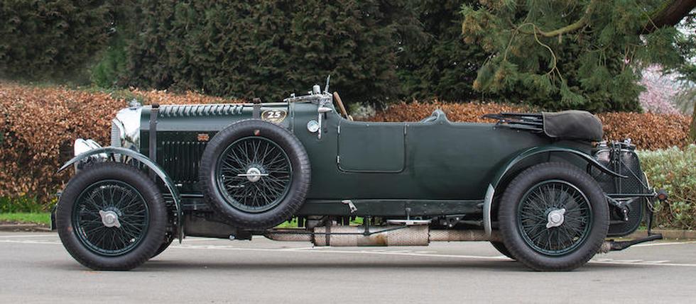 Eén van de vijftig Bentley Blowers geveild in Goodwood
