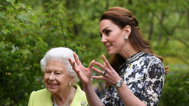 Om deze lieve reden heeft Kate een directe verbinding met Queen Elizabeth - Beau Monde